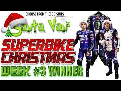 Santa Van's Superbike Christmas: Week 3 Race Suit Giveaway Winner Announcement!