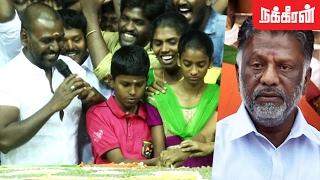 அரசியலுக்கு வரவச்சிடாதீங்க ! Raghava Lawrence Emotional Speech at JALLIKATTU Celebration