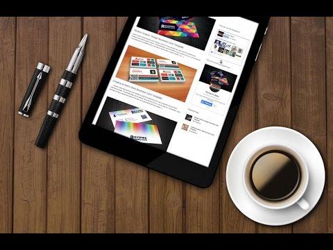 Smart Tablet MockUp Template Download Free
