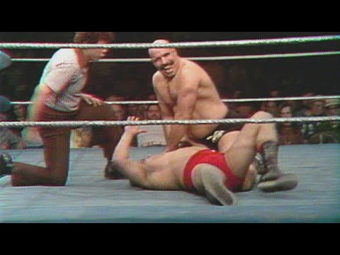 Iron Sheik dismantles his opponent as Vince McMahon calls it: All-Star Wrestling, Apr. 14, 2018