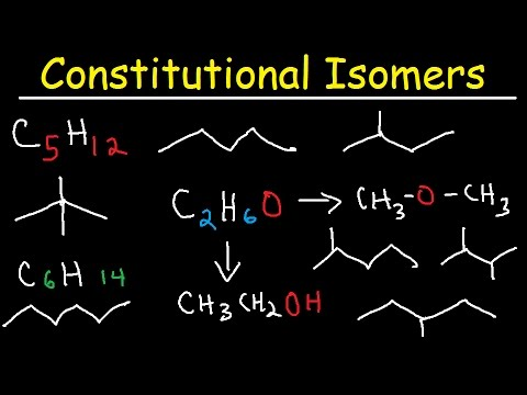 Drawing Constitutional Isomers of Alkanes - Organic Chemistry