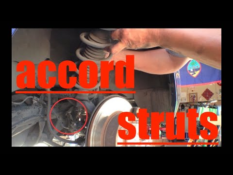 Rear Shock Strut Replacement Honda Accord √ Fix it Angel