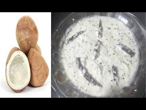इडली डोसा के साथ बनाये सूखे नारीयल की चटनी | Dry Coconut Chutney Recipe