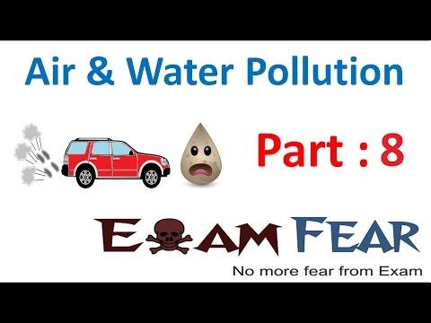 Biology Air Water Pollution Part 8 (Air pollution : Control) Class 8  VIII