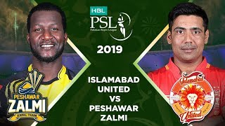Match 21: Full Match Highlights Peshawar Zalmi vs Islamabad United | HBL PSL 4 | HBL PSL 2019