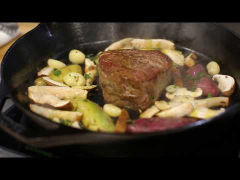 Filet Mignon Recipe: Pan Roasted Beef Tenderloin