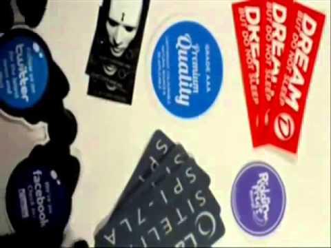 Snowboard Stickers