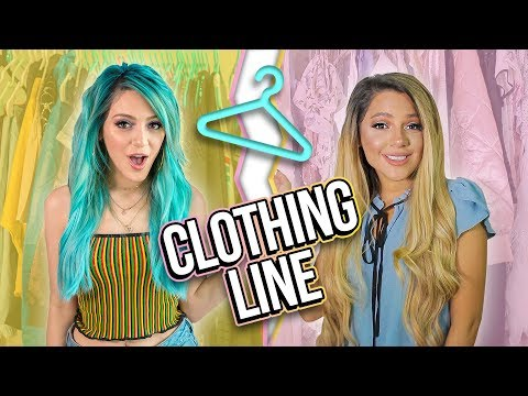 We Wore our Clothing Line for a Week! Niki and Gabi
