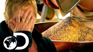 The Largest Gold Clean Up In Gold Rush History | New Gold Rush Tuesday 9pm | Discovery UK