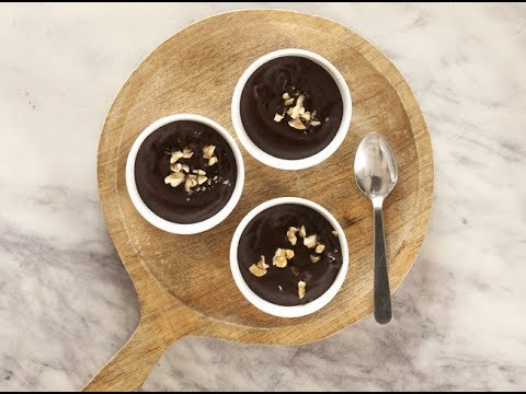 Fat free and sugar free chocolate pudding/ How to make/ Healthy