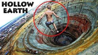 क्या होगा अगर आप पृथ्वी के आर पार सुरंग में कूद जाएं तो? (Hollow Earth)
