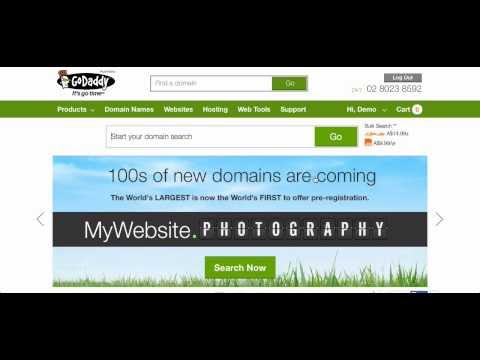 Flippa - Verifying ownership of a GoDaddy domain name