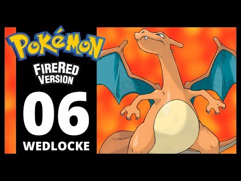 Pokemon Fire Red - Part 6 - Vermilion City (Wedlocke Challenge)