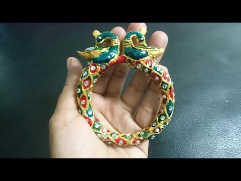 How to make terracotta bangle(part 2) - terracotta/clay jewellery making