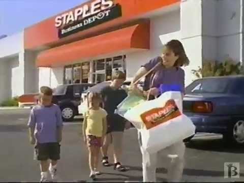 Staples Business Depot Back to School Commercial 1998