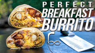 THE PERFECT BREAKFAST BURRITO | SAM THE COOKING GUY 4K