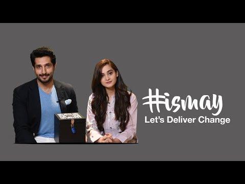 #IsMay Let's Deliver Change with Bilal Ashraf & Aiman Khan! - Yayvo.com