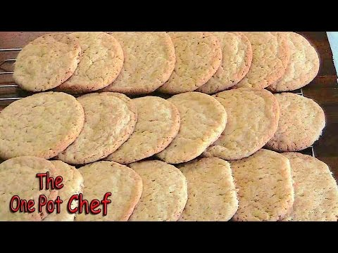 Snickerdoodles Cookies | One Pot Chef