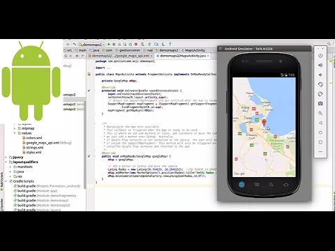 Demo d'Android Google Maps