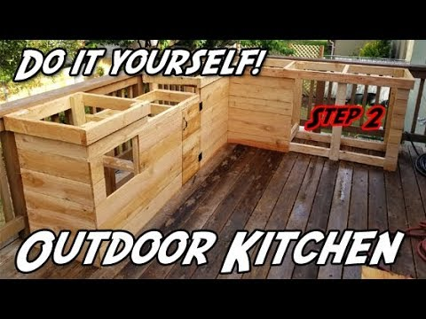 How to Build an Outdoor Kitchen | DIY Outdoor Kitchen