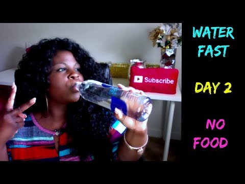 3 DAY WATER FAST (NO FOOD) DAY #2