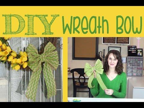 DIY Wreath Bow | #27