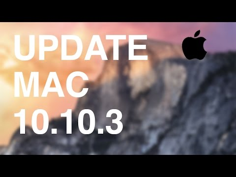 Yosemite Supplemental update fixes a video driver issue , how to update mac