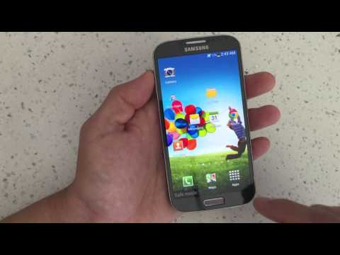 SAMSUNG GALAXY S4: HOW TO ENTER & EXIT