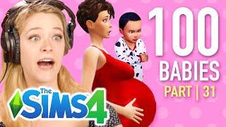 Single Girl Starves Her Children In The Sims 4 | Part 31