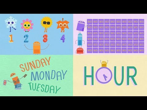 StoryBots | Songs About Time! | Learn How To Tell Time, Days of the Week and Seasons with StoryBots
