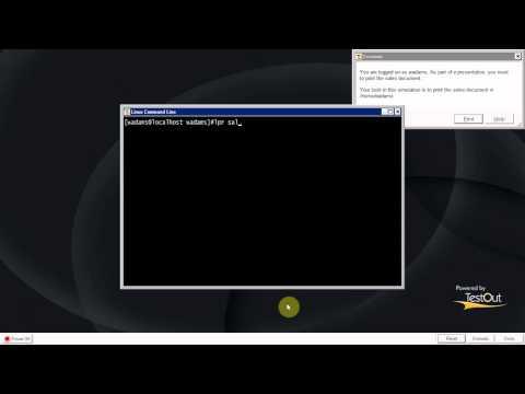 linux print a file