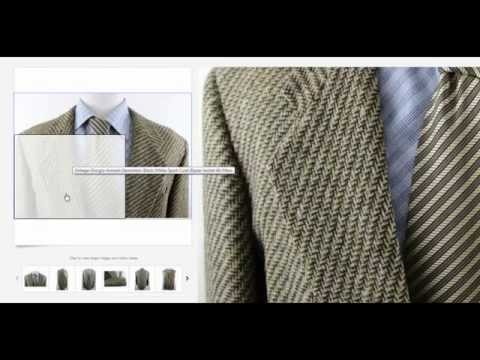 Giorgio Armani Sport Coat Sold For $150 On Ebay | How & Why I Sell Clothing Online