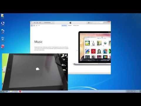 Restore first generation ipad via itunes