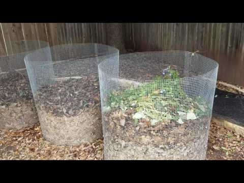 DIY Compost bin- fast, easy and cheap!