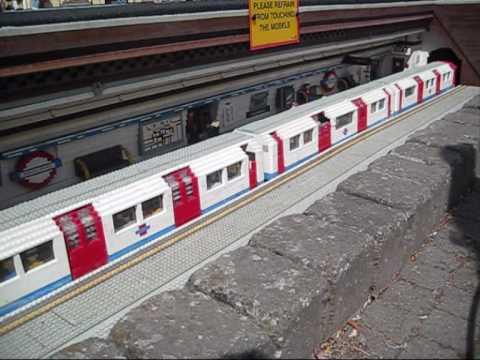 A tube arrives at Legoland!