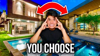 You Choose My Next Million Dollar House!