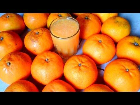 Quick & Easy Farm Fresh Orange Fruit Juice Making In 2 Minuts | Healthy Juice Recipe | Village food