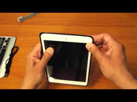 ZAGG SLIM BOOK FOR IPAD MINI UNBOXING AND FIRST LOOK