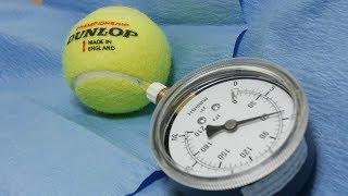 """""""Bouncy"""" sulfur hexafluoride gas in tennis balls?"""