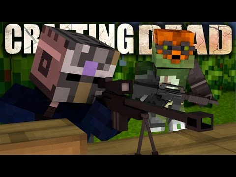 KILLING EVERYONE ON THE SERVER?!? - Crafting Dead Online With Friends!