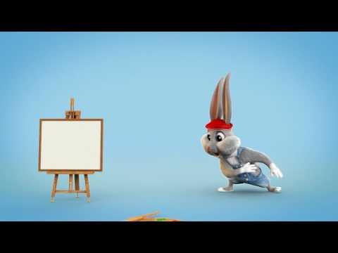 Funny cartoon logo intro 02 | Fiverr Intros & Animated Logos