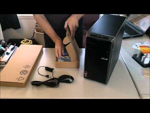 ASUS CM1730 Desktop Quick Unboxing....