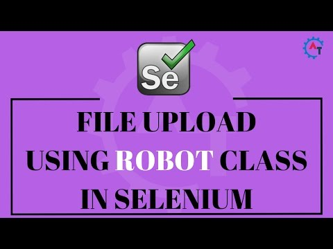 File Upload using Robot Class in Selenium