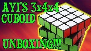 Ayis 3x4x4 Cuboid Unboxing