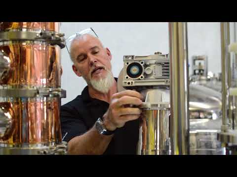 Replacement of Agitator Seals in Distilling System