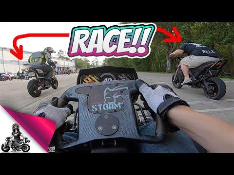 Drift Go Kart vs Honda Grom