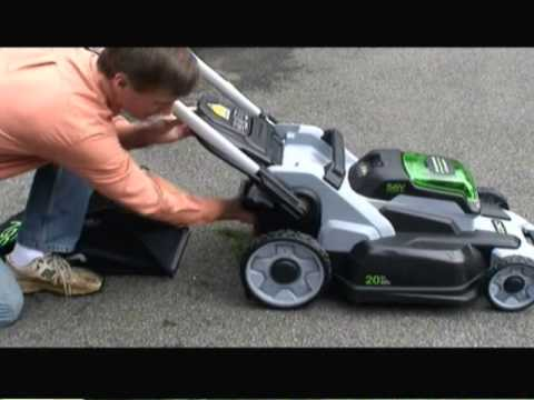 The Home Depot's EGO Power Mower Review