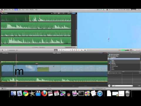 iMovie 11 Tutorial - Jump Cut at Beat Markers Quick and Dirty