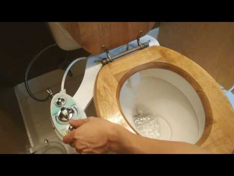 Add Zen Bidet to your toilet for a better hygiene! Installation and Review (Z-500)