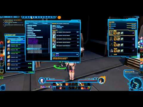 SWTOR Crafting for Conquest